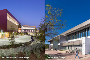 San Bernardino Valley College and Crafton Hills College Campuses